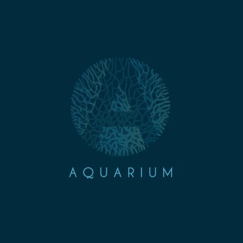 Elegant brand with the title 'Aquarium'