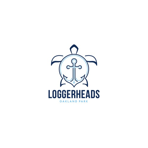 Creative brand with the title 'Loggerheads Oakland Park'
