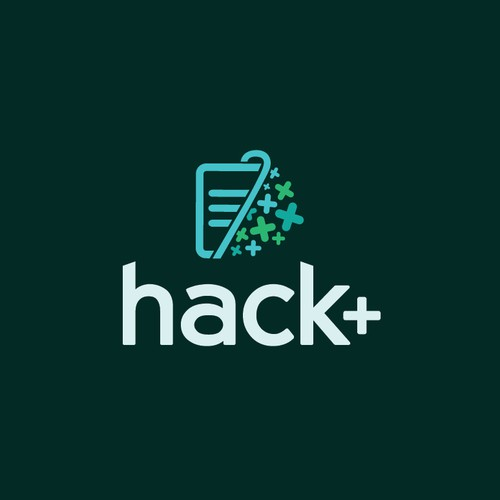 Resource logo with the title 'Logo Concept for Hack+'