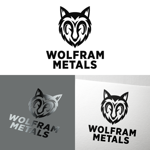 Ram logo with the title 'Logo symbol of wolfram logo'