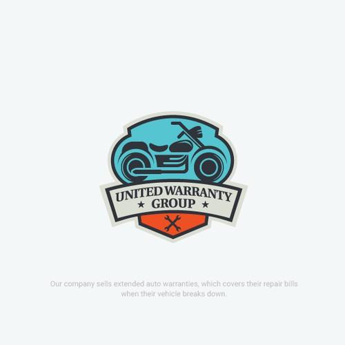 Automotive brand with the title 'Bold Logo Vehicle Auto Warranty Company'