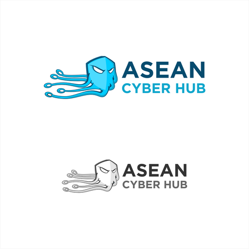 Innovative brand with the title 'Asean cyber hub'