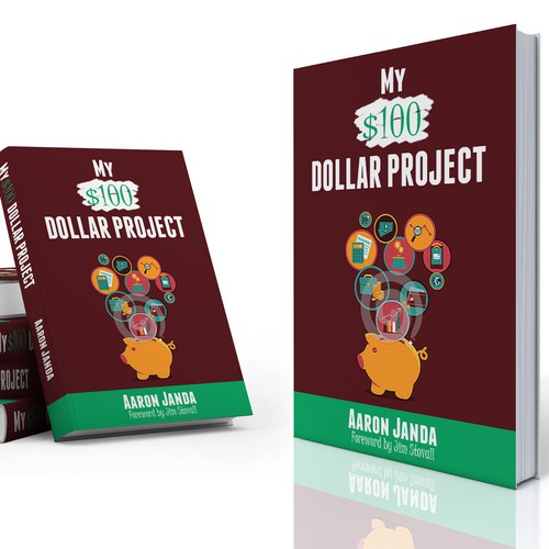 Management book cover with the title 'My  $100 Dollar Project'