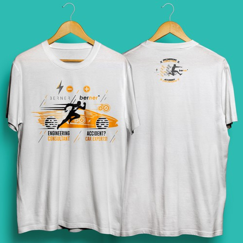 Running t-shirt with the title 'Car Experts!'