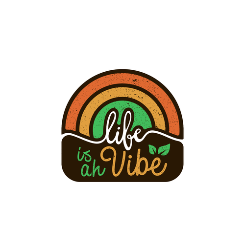Jamaican logo with the title 'Life is ah Vibe'