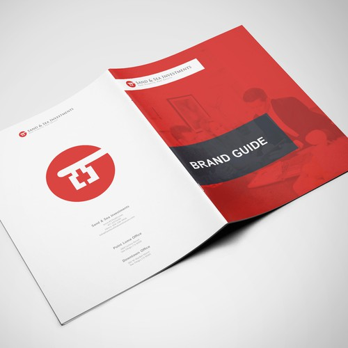 Style guide design with the title 'Bifold Brand Guide'