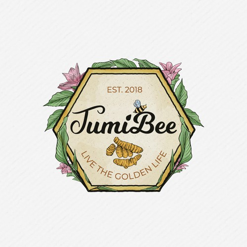 Ayurveda logo with the title 'TumiBee'