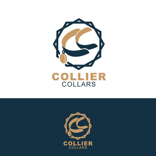 Collar design with the title 'collier collars'