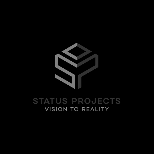Kitchen brand with the title 'STATUS PROJECTS'