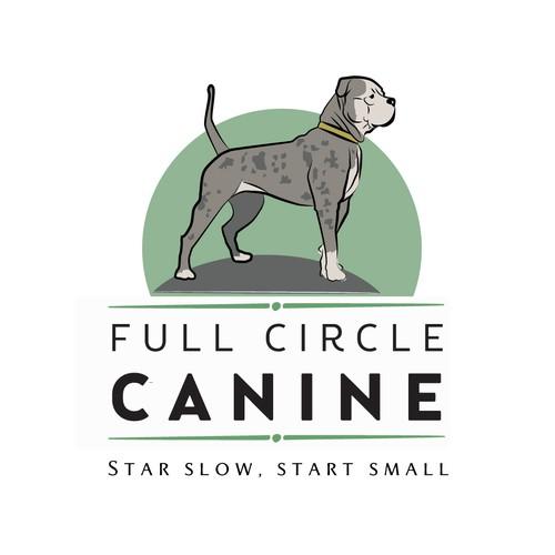 Dog training logo with the title 'Logo for Dog Training Business'