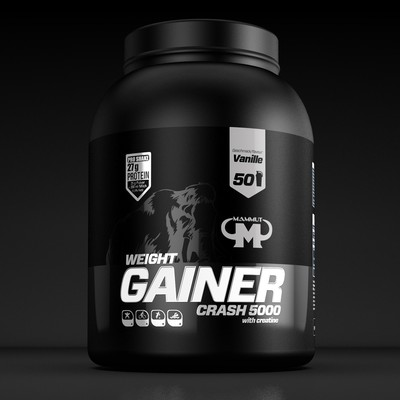 Mammut Nutrition Gainer Label