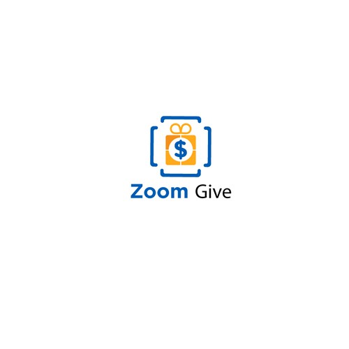 Giving logo with the title 'Zoom Give Logo'
