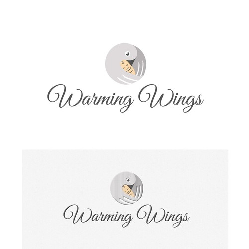 Warm logo with the title 'Warming Wings'