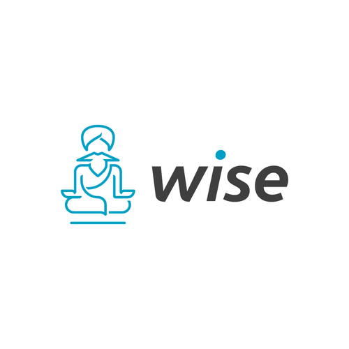 Pictogram design with the title 'a guru concept for wise'