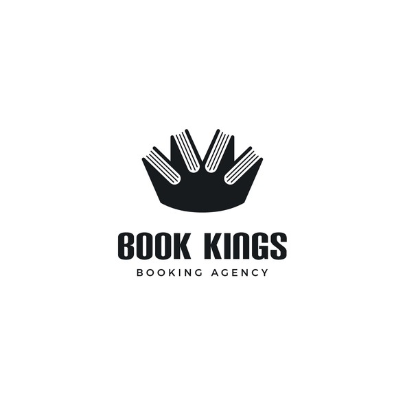 Booking logo with the title 'Book Kings'