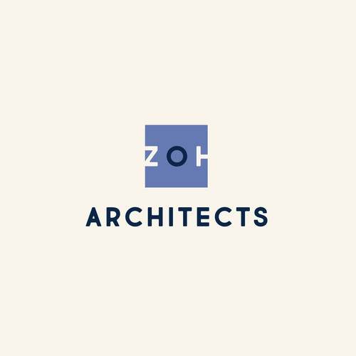 Architect logo with the title 'ZOH Architects Logo'
