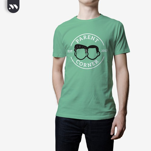 Green t-shirt with the title 'Additional idea for the Ringer t-shirt'
