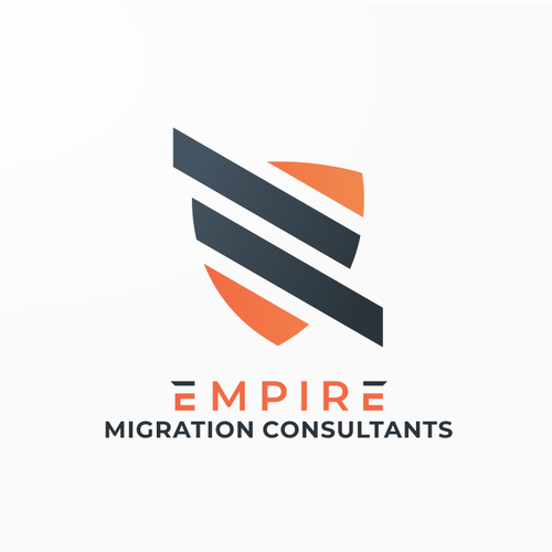 Migration design with the title 'Empire Migration Consultants Logo'