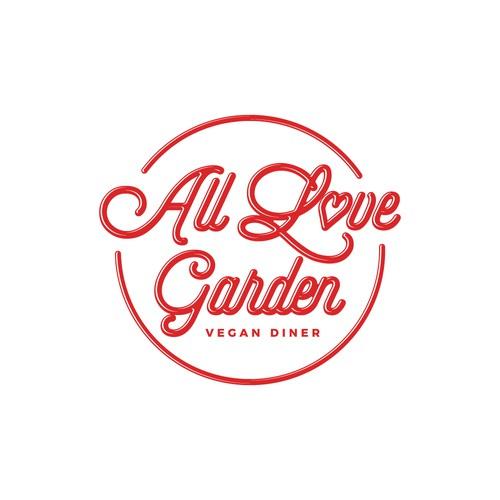 Diner logo with the title 'Logo Design for Vegan Comfort Food Diner'