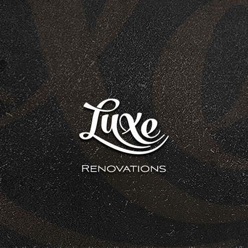 Renovation logo with the title 'Renovation company logo'