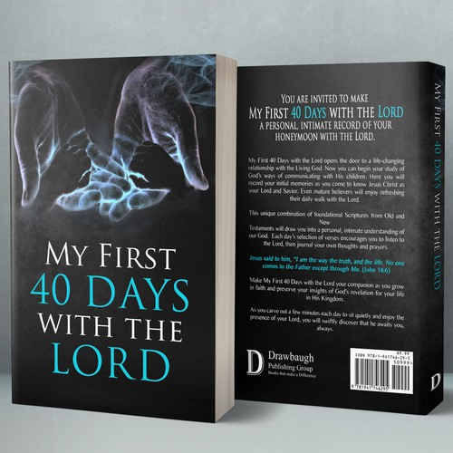 Memory design with the title 'My First 40 Days With The Lord'