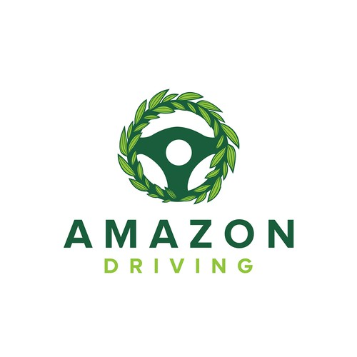 Jungle logo with the title 'Amazon Driving'