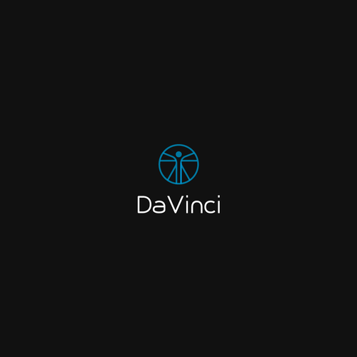 Clear logo with the title 'Bold logo concept for DaVinci'