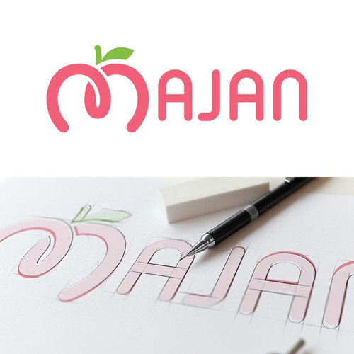 Fruit design with the title 'Majan - Fruit Company'