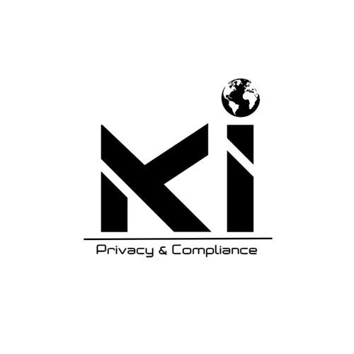 Advocacy logo with the title 'Conceito de Logo Moderna | Modern Logo Concept'