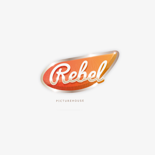 Rebel logo with the title 'Rebel Picturehouse'