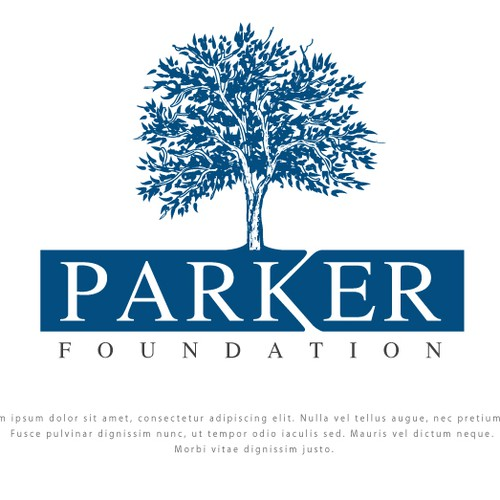 NGO logo with the title 'PARKER FOUNDATION'
