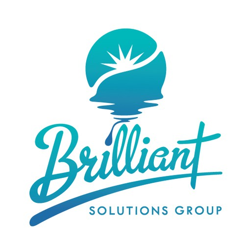 Empowerment logo with the title 'Brilliance Logo Concept for Brilliant Solutions Group'