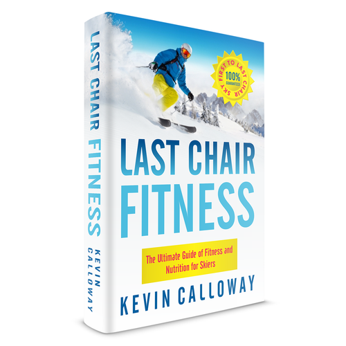 Fitness book cover with the title 'Book cover for Last Chair'