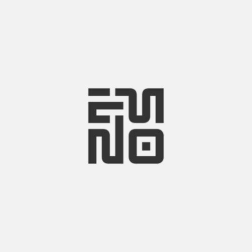 Alphabet logo with the title 'E-M-N-O'