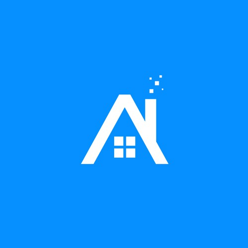 Artificial intelligence logo with the title 'AI Village'