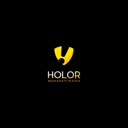 Powerful logo with the title 'Design logo for Holor a stylish wearable personal safety device '
