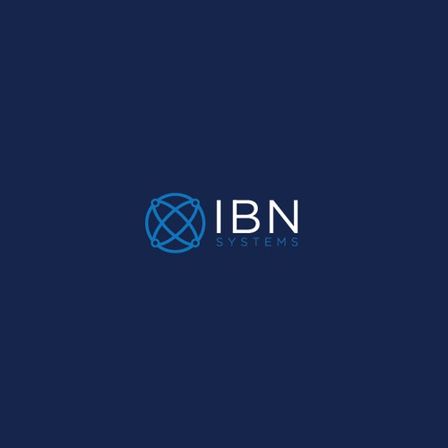 Systems logo with the title 'Modern and Sophisticated logo for IBN Systems'