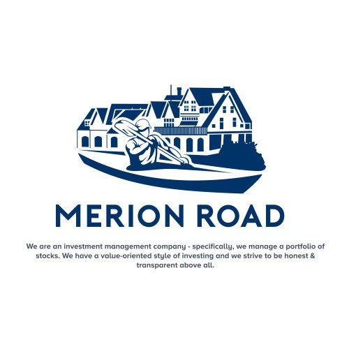Kayaking logo with the title 'Merion Road'