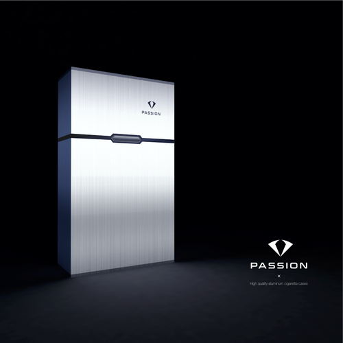 Case design with the title 'passion'