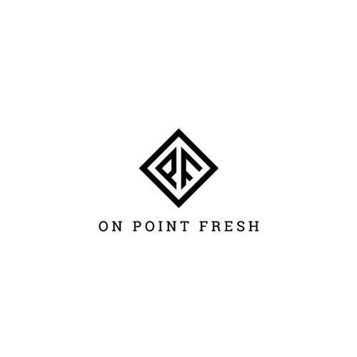 Streetwear logo with the title 'On Point Fresh'