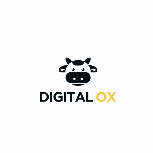 Ox logo with the title 'Internet Marketing Agency Needs 'FUN' Catchy Logo'