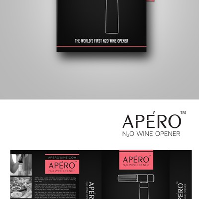 Wine Opener Packaging design