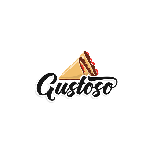 Creepy logo with the title 'Gustoso'
