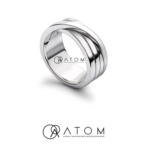 Ring logo with the title 'Atom'