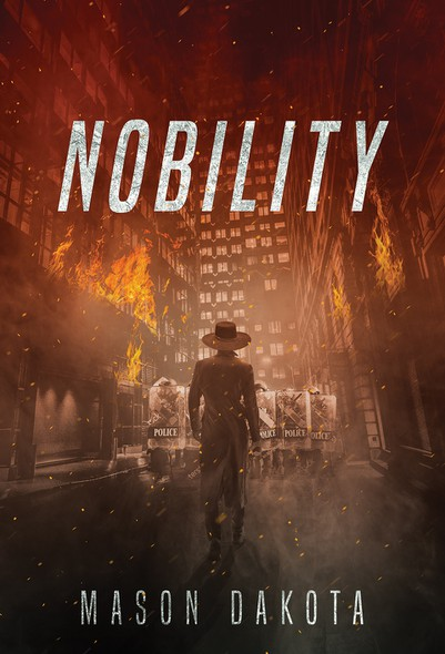 Dystopian book cover with the title 'Nobility'