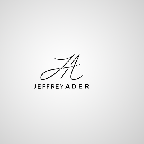 Quick logo with the title 'JA Logo Design'