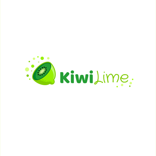 Lime logo with the title 'KiwiLime juice'