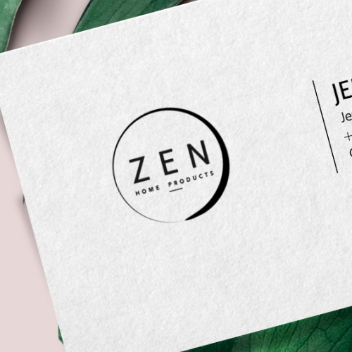 Catchy design with the title 'Logo design'