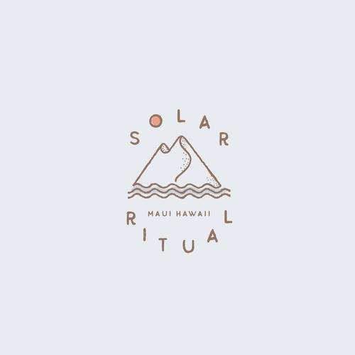 Maui logo with the title 'Solar Ritual'