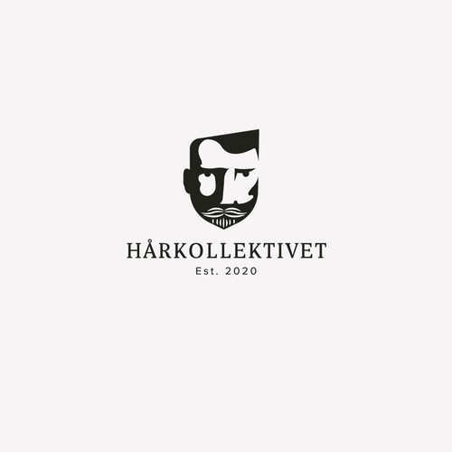 Saloon logo with the title 'Harkollektivet '